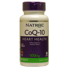 コエンザイムQ10(CoQ10)チュワブル100mg ※チェリー 30粒(チュワブル)※約15日分 サプリメント
