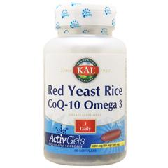 紅麹(ベニコウジ)米&コエンザイムQ10 + オメガ3 EPA/DHA