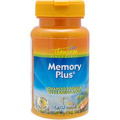 メモリープラス(チロシン、イチョウ葉、亜鉛配合