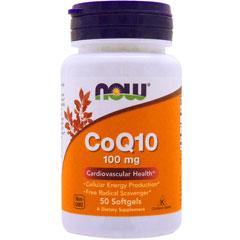 コエンザイムQ10 (CoQ10) 100mg 50粒(ソフトジェル)※約25~50日分 サプリメント