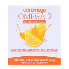コロメガ オメガ3 スクィーズ (EPA・DHA含有)※オレンジ風味