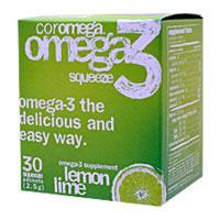 コロメガ オメガ3 スクィーズ (EPA・DHA含有)※レモンライム風味