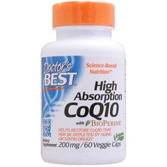 高吸収コエンザイムQ10(CoQ10) 200mg 60粒(ベジタリアンカプセル)※60日分 サプリメント