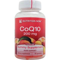 ☆コエンザイムQ10(CoQ10) グミ ※ピーチ 60粒(グミ)※約30日分 サプリメント