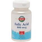 葉酸 800mcg & ビタミンB12